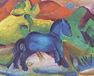 Franz Marc : Blue Pony : $265