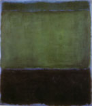 Mark Rothko : No 3 Green and Blue 1957 : $599