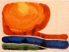 Georgia O'Keeffe : Evening Star No II 1957 : $279