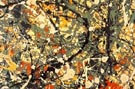 Jackson Pollock : No 8 1949 Rectangle Detail : $299