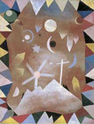 Paul Klee : Above the Mountain Peaks : $285