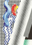Roy Lichtenstein : Untitled Reflection 1989 : $275