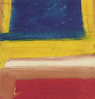 Willem De Kooning : Untilled Composition Red Yellow Blue 1960 : $275