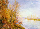 Alfred Sisley : The Chemin de by through Woods at Roches Courtaut 1880 : $275