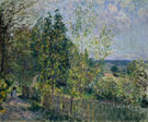 Alfred Sisley : The Road in the Woods 1879 : $279