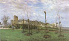 Alfred Sisley : View of Montmartre from the Cite des Fleurs 1869 : $275