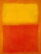 Mark Rothko : Yellow and Orange 1956 : $275