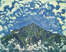 Ferdinand Hodler : The Niesen seen from Heustrich 1910 : $275