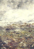 August Strindberg : Alpine Landscape I 1894 : $275