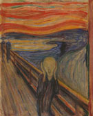 Edvard Munch : The Scream 1893 : $279