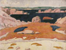 Emile Bernard : The Coast at St Briac 1888 : $275