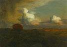 Emile Rene Menard : Ancient Land Agrigentum 1898 : $279