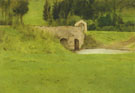 Fernand Khnopff : Bridge at Fosset 1897 : $275