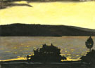 Hugo Simberg : Spring Evening During the Ice Break 1897 : $275