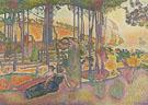 Henri Edmond Cross : Evening Air c1893 : $279