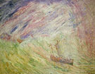 James Ensor : Christ Calming the Storm 1891 : $275