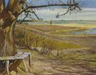 Laurit Andersen Ring : Lundbyes Bench at Lake Arreso 1899 : $279