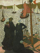 Maurice Denis : Regattas at Perros Guirec c1892 : $275