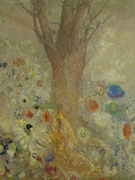 Odilon Redon : The Buddha c1904 : $275