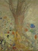 Odilon Redon : The Buddha c1904 : $275