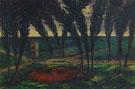 William Degouve de Nuncques : The Pool of Blood 1894 : $275
