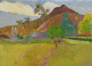 Paul Gauguin : Tahition Landscape 1891 : $275