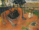 Paul Gauguin : Idyll in Tahiti 1901 : $275