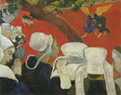 Paul Gauguin : Vision of the Sermon Jacob Wrestling with the Angel 1888 : $279
