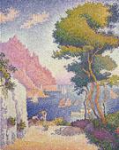 Paul Signac : Capo di Noli 1898 : $279