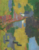 Paul Serusier : The Talisman or The Bois d Amour Pont Aven 1888 : $279