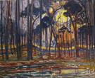 Piet Mondrian : Bosch Woods near Oele 1908 : $279