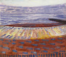 Piet Mondrian : Sea after Sunset 1909 : $275
