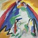 Wassily Kandinsky : Mountain 1909 : $275