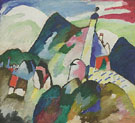 Wassily Kandinsky : Murnau with Church II 1910 : $279