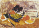 Peggy Somerville : Bowls of Fruit on a Ledge 1950 : $279