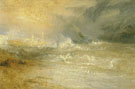 Joseph Mallord William Turner : Waves Breaking on a Lee Shore 1835 : $275