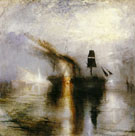 Joseph Mallord William Turner : Peace Burial at Sea 1842 : $275