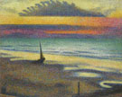 Georges Lemmen : Beach at Heist 1891 : $279