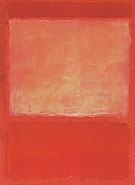 Mark Rothko : No.16  1960 Orange Purple : $269