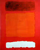 Mark Rothko : Red White and Brown 1957 : $285