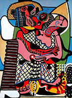 Pablo Picasso : The Kiss 1925 : $285