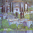 Kasimir Malevich : The Church in Cassone : $263