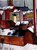 August Macke : The Storm (1911) : $290